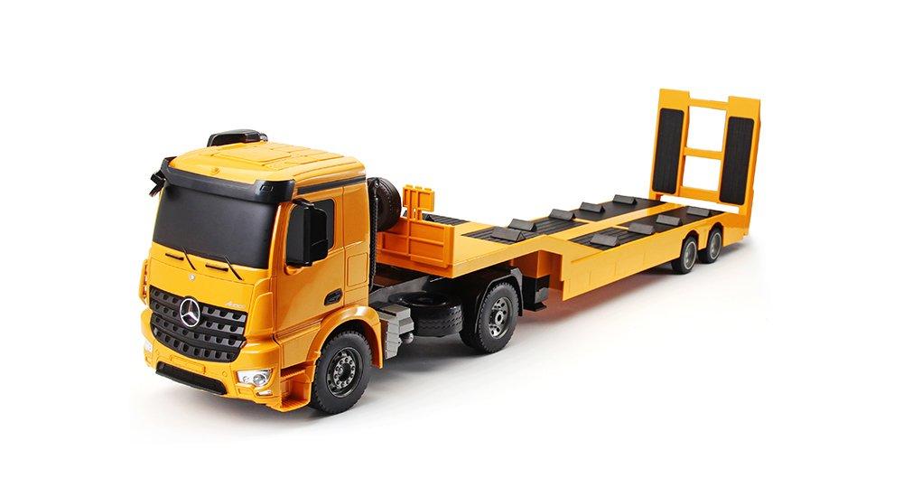 牽引自動車 ラジコンカー 電動 RCカー 牽引 フルアクション ラジコン 工事車両 子供 おもちゃ プレゼント 日本語取説付き B078XQPWQ3