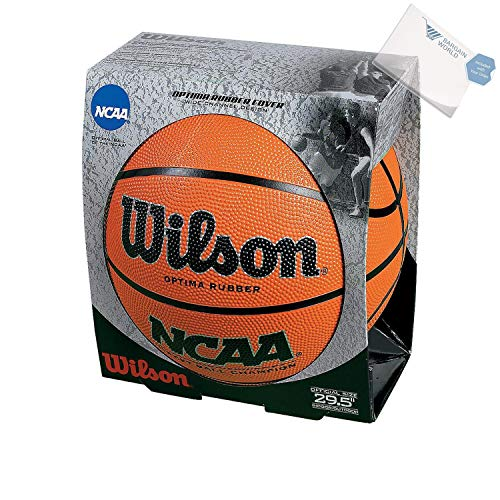 (Bargain World Rubber Wilson NCAA Official Size Basketball (With Sticky)