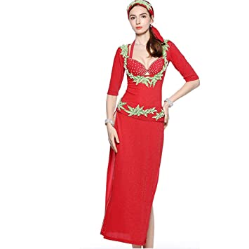 C&X Belly Dance Costume Set For Mujer Belly Dance, Baile ...