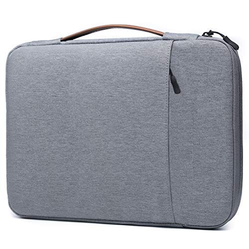 HYZUO 15-15.4 Inch Laptop Sleeve Case Shockproof Water-Resistance Briefcase Handbag Compatible with 15.4 MacBook Pro Retina A1398 2012-2015 Version / 15 Surface Book 2/15.6 Dell XPS 15 Zipper Bag