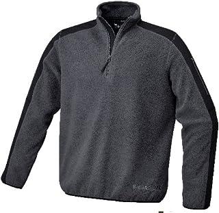 Beta 076320002 7632G - Pile in lana calda con quadrati in poliestere, colore: Grigio