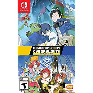 Best Epic Trends 51PUhUld6iL._SS300_ Digimon Story Cyber Sleuth: Complete Edition - Nintendo Switch