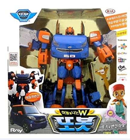 Amazon Com Tobot Flying W Transforming Robot Transformers Toy Car