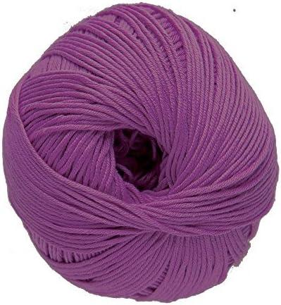DMC Ovillo Natura 100% algodón, Color Ciruela N59: Amazon.es: Hogar