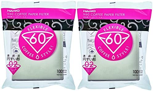 Hario V60 Coffee Filters Tabbed product image