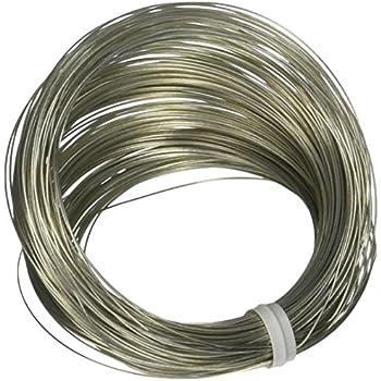 Amazon.com: OOK 50138 28 Gauge, 100ft Steel Galvanized Wire: Home ...