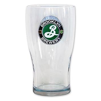 b5a0f0f7 Brooklyn Brewery Tulip Pint Glass: Amazon.co.uk: Kitchen & Home
