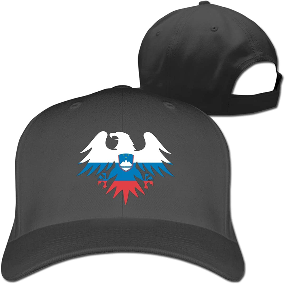 Slovenia Flag Eagle Classic Adjustable Cotton Baseball Caps Trucker Driver Hat Outdoor Cap Fitted Hats Dad Hat Black