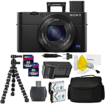 Sony Cyber-Shot DSC-RX100 IV Digital Camera PRO Bundle Kit (International Version) No Warranty