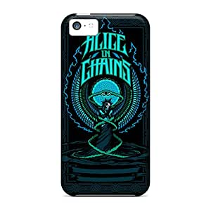 PhilHolmes Iphone 5c Anti-Scratch Hard Phone Covers Customized Realistic Alice In Chains Series [sDb11561FYNt]