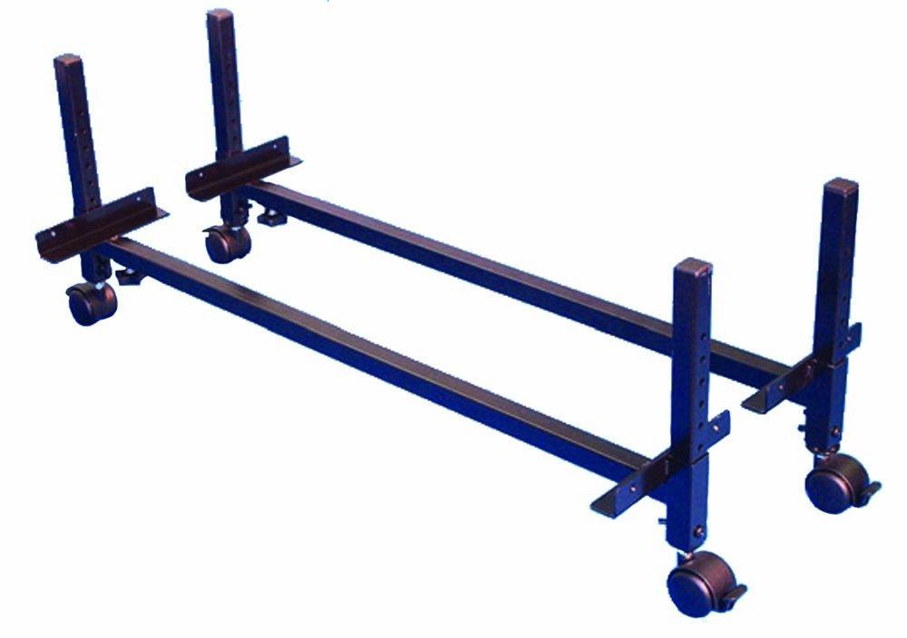 Morris & Alexander Gestelle zur Erhöhung von Betten (höhenverstellbar, Höhe 7,5-28 cm, mit Lenkrollen)