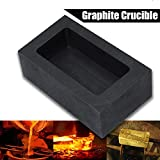 Graphite Ingot Mold, Melting Casting Mould for Gold Silver Aluminum Copper Brass Zinc Plumbum and Alloy Metals