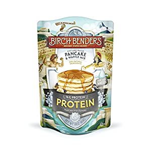 Well-Being-Matters 51PUjH8BwiL._SS300_ Birch Benders Pancake and Waffle Mix with Whey, Protein, 16 Oz