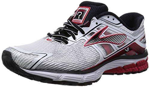 Men's Brooks 'Ravenna 6' Running Shoe, Size 14 EE - White