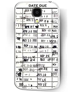 Bible Verses For Galaxy S4 - Library Book Date Due Printed For Samsung Galaxy S4 by Maris's Diary