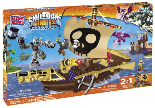 Mega Bloks Skylanders Crusher's Pirate Quest]()
