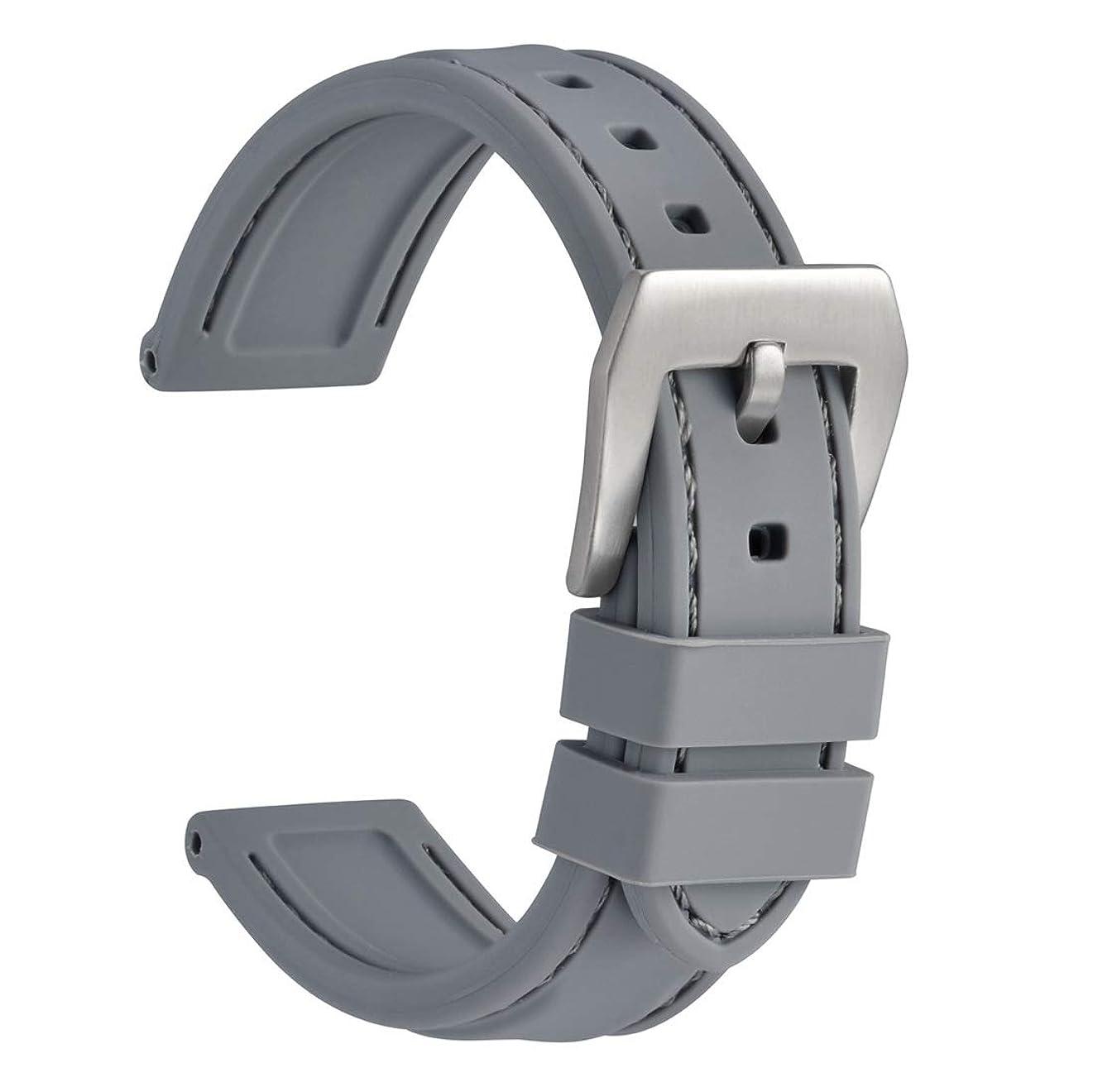 十分ではないクリーム高尚なTianka 腕時計 ステンレス メッシュ ベルト 時計バンド 交換ベルト 時計 メタルバンド 20mm 22mm 24mm メンズ レディース 時計ストラップ