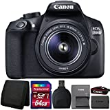 Canon EOS 1300D/T6 18MP Digital SLR camera with 18-55mm Lens and Accessory Kit