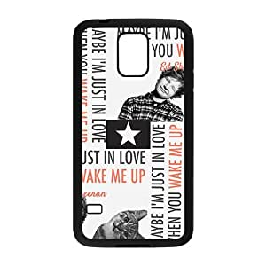 Cute cat and naughty boy Cell Phone Case for Samsung Galaxy S5