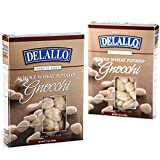 DeLallo Whole Wheat Potato Gnocchi, 16 Ounce Boxes (Pack of 6)