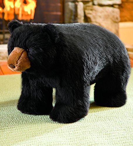 Bear Footstool - Black Bear Footstool