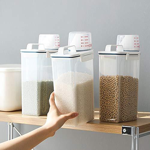 XIAOL HOME Los contenedores de almacenamiento de cereales de arroz ...