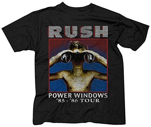 Rush- Power Windows T-Shirt Size M