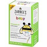 #8: Zarbee's Naturals Baby Vitamin D Supplement, 0.47 Fl. Ounce