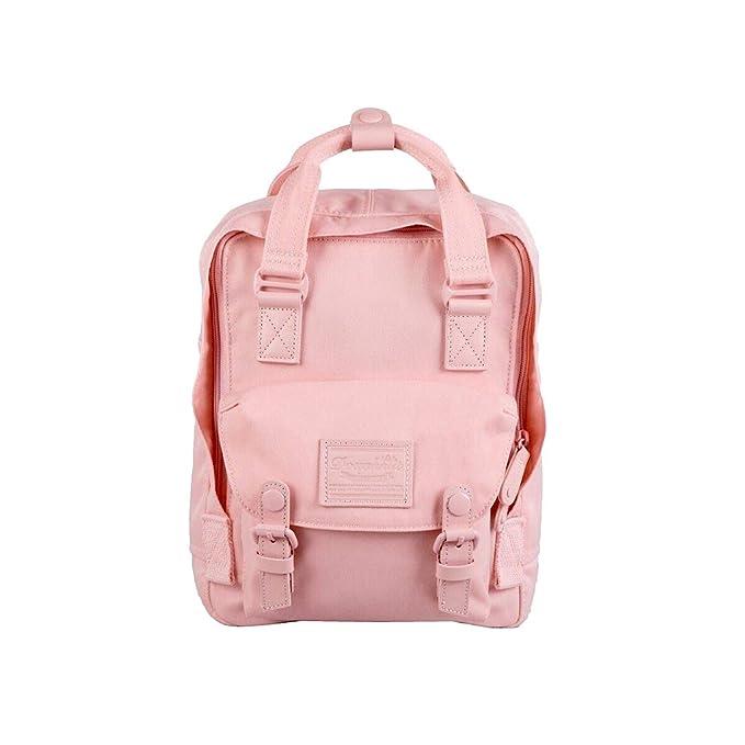 Doughnut Women's Mini Macaroon Backpack (One Size, Pastel Series Light Coral)