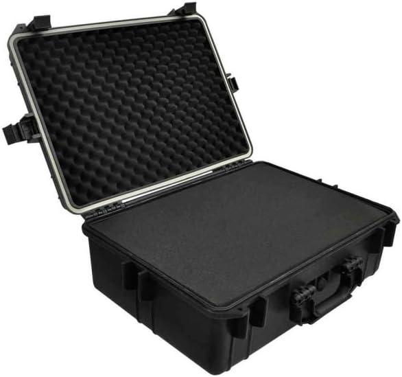 Caja Maleta baúl caja de herramientas Almacenamiento Negro