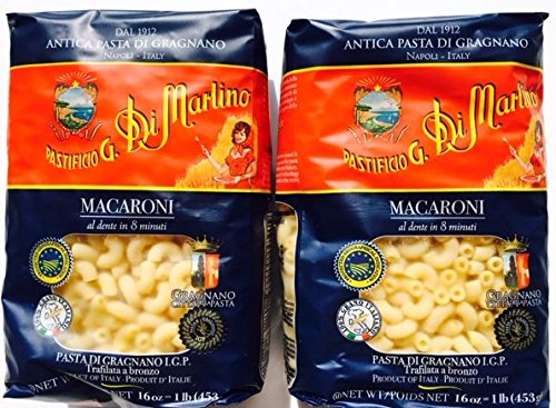 Di Martino Pasta Elbows Macaroni 16 Oz I - Canister Elbow Shopping Results
