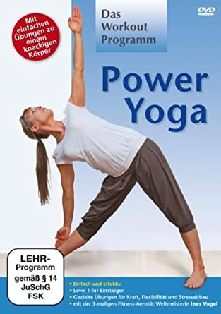 Power Yoga [Alemania] [DVD]: Amazon.es: Ines Vogel: Cine y ...