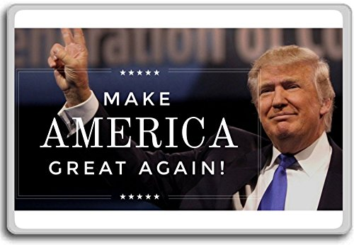 Donald Trump Make America Great Again! 2016 U.S. presidential election fridge magnet