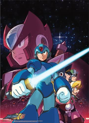 Great Eastern Entertainment Megaman X Crew Wall Scroll, 33 by 44-Inch