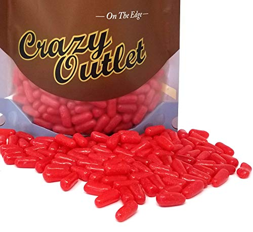 CrazyOutlet Pack - Hot Tamales Fierce Cinnamon Chewy Candy, Bulk Pack, 2 lbs