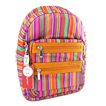 Backpack 'Hedgren' multicolored orange (special pc)- 38x29.5x12 cm (14.96''x11.61''x4.72'').