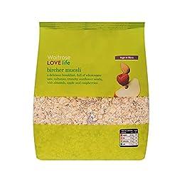 Bircher Muesli Waitrose Love Life 750g - Pack of 2