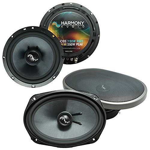 Fits Pontiac Grand Prix 2004-2008 OEM Premium Speaker Upgrade Harmony C65 C69 - Grand Prix Speakers Pontiac
