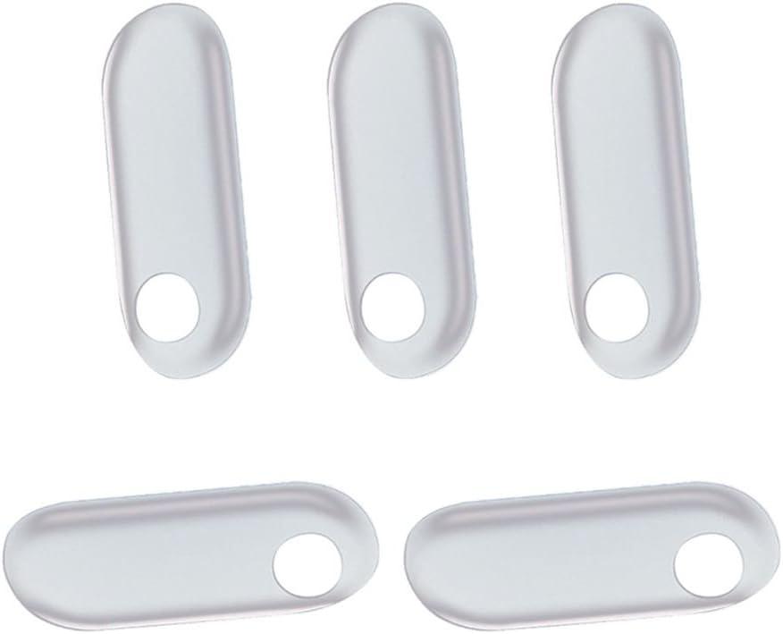 Mengonee 5pcs / Lot para Xiaomi Mi Banda 3 Protector de Pantalla de Alta definición Inteligente Nueva Pulsera Anti-arañazos TPU película Protectora