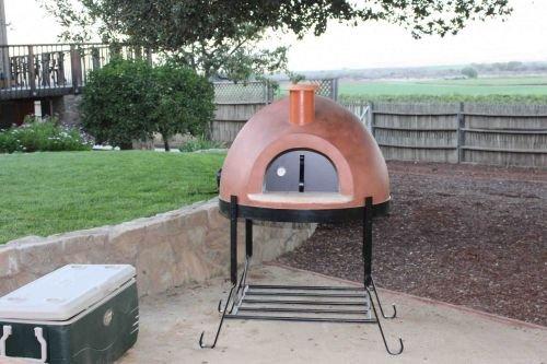 Forno Bravo FP70 Primvera 70 Outdoor Pizza Oven - Red