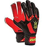 Goalkeeper Gloves Brine King Match 3X Soccer Goalie Glove Finger Save Protection Spines