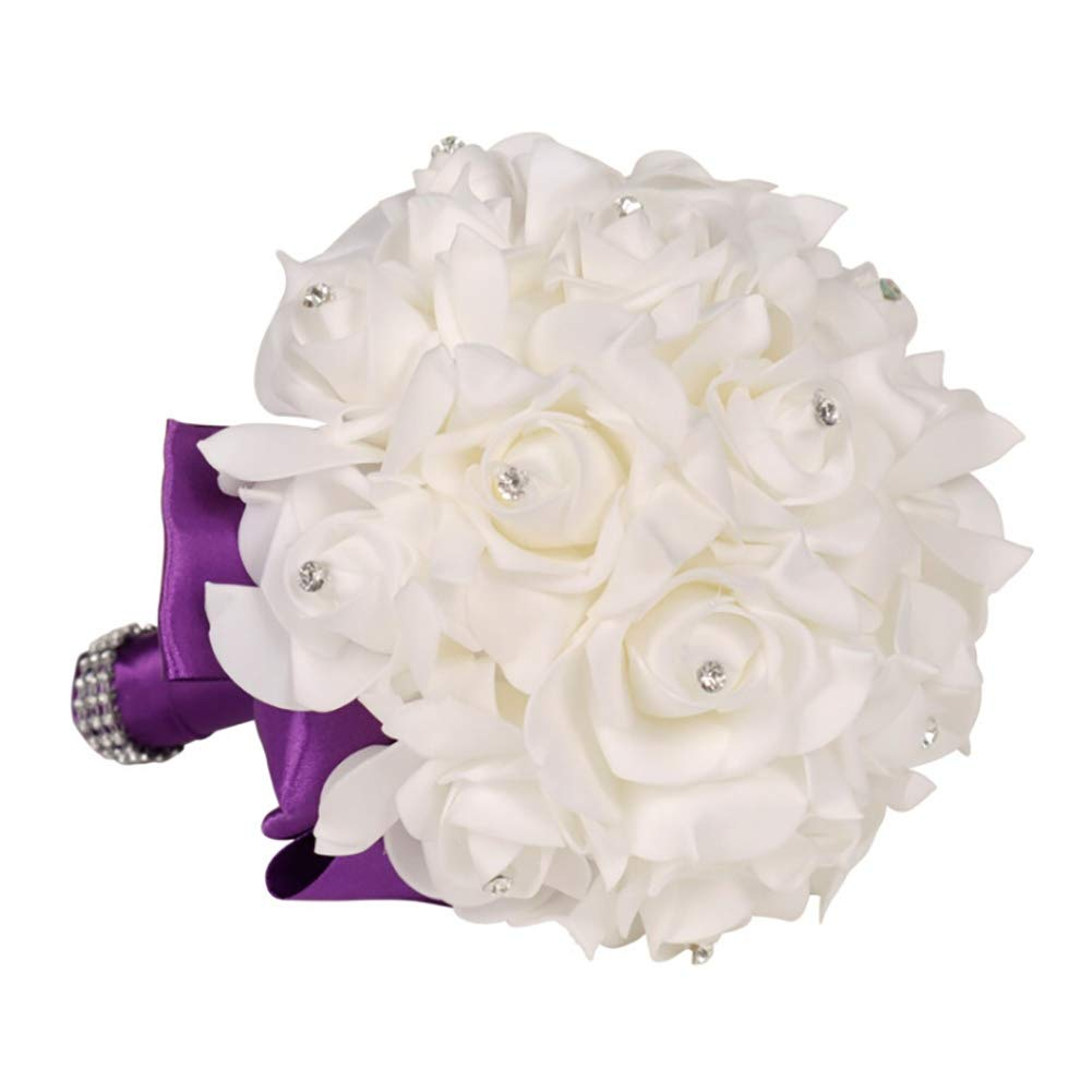 Wedding Flower Girl Basket Love Bowknot Lace Flower Baskets/Bridal Bouquet