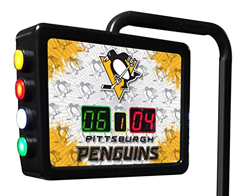Pittsburgh Penguins Electronic Shuffleboard Scoring Unit - Officially Licensed