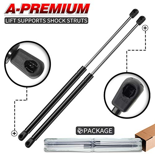 (A-Premium Tailgate Rear Hatch Lift Supports Shock Struts for Ford Mustang 1979-1993 Capri 79-86 2-PC Set)
