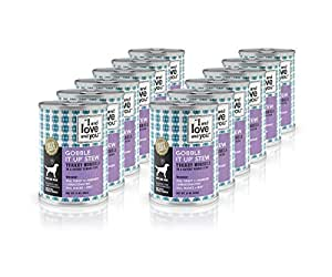 """""""I And Love And You"""" Gobble It Up Stew Grain Free Canned Dog Food, 13 Oz (Pack Of 12)"""