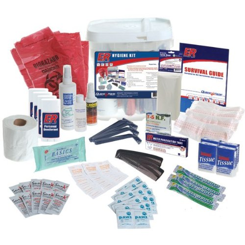 ER Emergency Ready SKHG Family Hygiene Emergency (First Aid Kit Toothbrush)