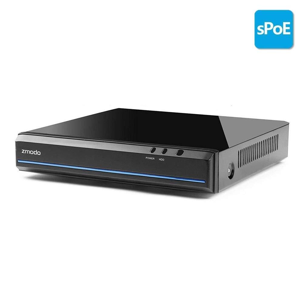 Zmodo 8 Channel 720p sPoe NVR 500GB Hard Drive
