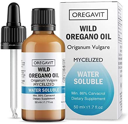 Water Soluble Wild Oil of Oregano Oil 50ml 1,7oz Promotes Clean Teeth * Healthy Gums * Good Breath * Immune Boosting * Healthy Digestive and Elimination Function * Daily MOUTHWASH*Ideal