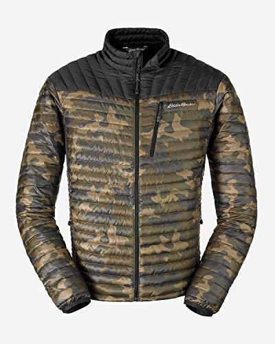 Eddie Bauer Men's MicroTherm StormDown Jacket, Dk Loden S