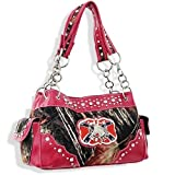 Pink Camo Western Horse Redneck Fashion Purse, Bags Central